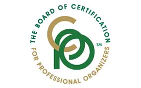 certification for professional organizers