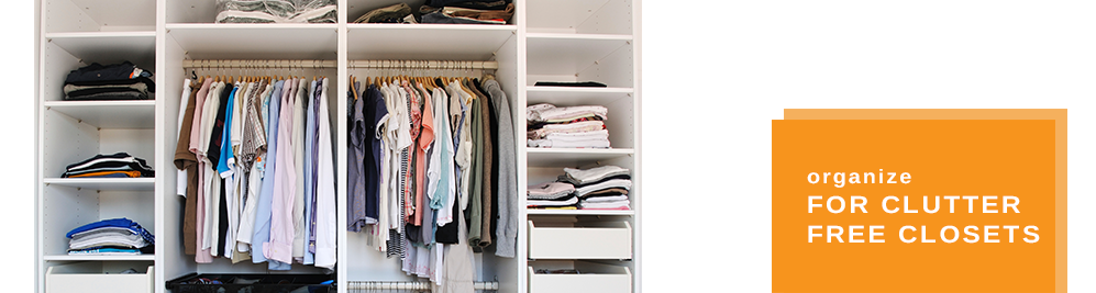 CT Professional Organizer for clutter free closets